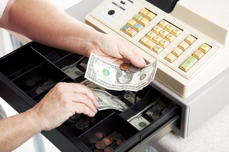 cash registers are prone to theft